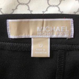 MICHAEL Michael Kors Skirts - Michael Michael Kors Black Panel Skirt